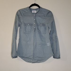 Holding Horses Anthropologie Button Down Top 0
